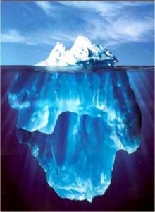 Eisberg pur